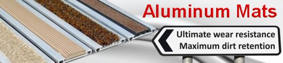 Aluminum entrance mats