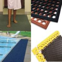 Locker shower mats