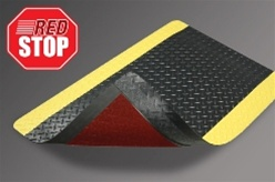 Mat red stop stop mat movement