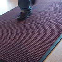 Guzzler commercial mats application picture