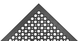 Beveled Drain Step Mat