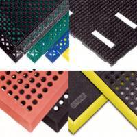 Industrial wet area mats